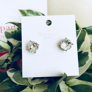 Kate spade silver  earrings.